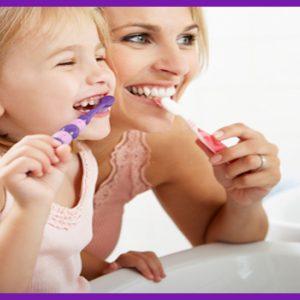 Top 6 ngừa sâu răng cho trẻ em cha mẹ làm gương